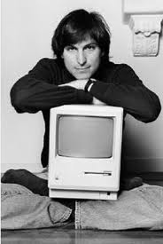 Steve Jobs Launches the Mac (picture taken from Mac World)